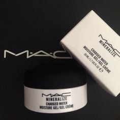 MAC Charged Water Gel Moisturizer New in box, never used. Excellent if you have dry skin. Good prep for makeup. Clean scent. 4.6/5 stars on MAC's website right now - read the good reviews! MAC Cosmetics Makeup Face Primer