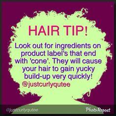 Natural Hair Tip!
