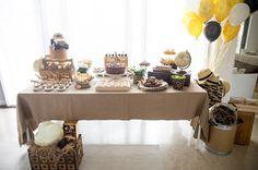 Gorgeous Safari Birthday Party featured on CoolandBello with Sassaby Safari Printable Collection