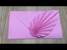 Learn how to make an origami leaf envelope easily at home, its super easy and fun crafts for kids and beginners. Origami Ball, Origami Rose, Diy Origami, Origami Guide, Origami Leaves, Origami Lotus Flower, Origami Cards, Money Origami, Paper Crafts Origami
