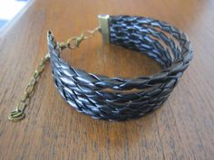 Cuff Braided Leather Cord