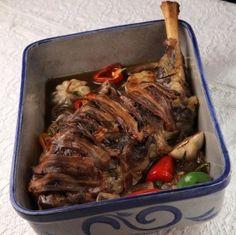 Ami a magazinból kimaradt - Rozmaringos báránycomb Meat Recipes, Pork, Beef, Dishes, Kale Stir Fry, Meat, Tablewares, Pork Chops, Dish