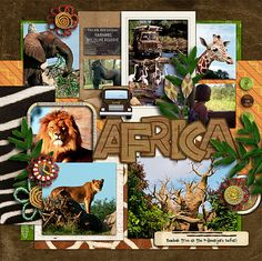 Africa General - Page 3 - MouseScrappers.com