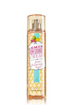 Lemon Pomegranate Cream Fine Fragrance Mist - Signature Collection - Bath & Body Works