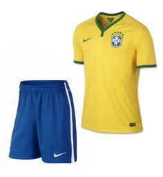 Maillot de Foot Bresil Coupe du monde 2014 Domicile Nike jaune+Shorts Personnalisé bleu Pas Cher http://www.korsel.net/maillot-de-foot-bresil-coupe-du-monde-2014-domicile-nike-jauneshorts-personnalis%C3%A9-bleu-pas-cher-p-3090.html