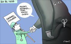 Caricatura Alecus, En el ISSS