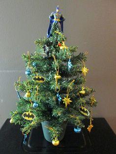 45 best batman Christmas images on Pinterest | Batman christmas tree ...