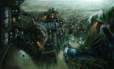 Underwater City by ~lostsoul121 on deviantART