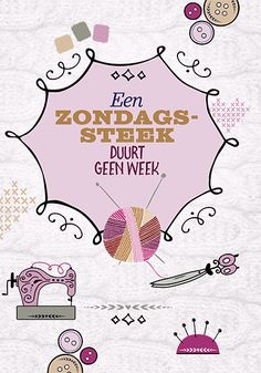 Miniposter Een zondagssteek duurt geen week