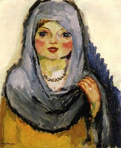 Kees van Dongen - Girl with Grey Shawl, 1907