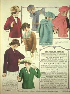 1920s sweaters