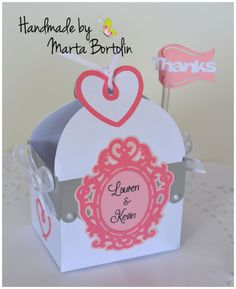 Items similar to Bridal Shower Favor Box (Set of Wedding Favor, Personalized Favor Box on Etsy Bridal Shower Favors, Wedding Favors, Invitation Cards, Invitations, Paper Cake, Cupcake Wrappers, Favor Boxes, Fans, Party