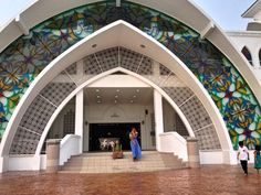 Mosque in Melaka, Malaysia