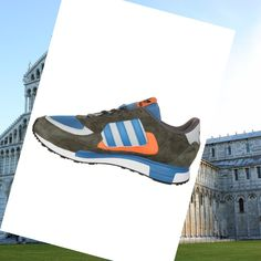 Adidas Zx 850 Shoes Brown/blue/orange HOT SALE! HOT PRICE!