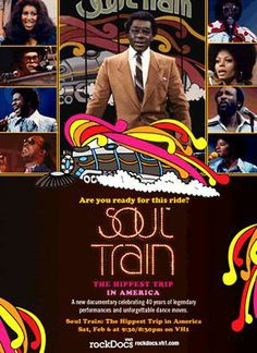 Soul Train: The Hippest Trip in America is a Documentary directed by J. Year: Original title: Soul Train: The Hippest Trip in America. Aaliyah Movie, African American Movies, Jazz Hip Hop, Music Documentaries, Smokey Robinson, Chaka Khan, Soul Train, Neo Soul, Aretha Franklin