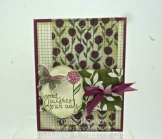Stamps, Paper, Ink Create!: Irresitably Yours DSP with Sheer Perfection stack Clover Card