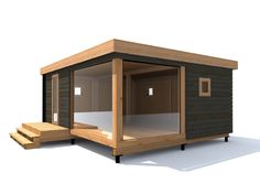 дом модульный1 Micro House, Tiny House, Shed Design, House Design, Sims 2 House, Cool Sheds, Backyard Storage, Floating House, Cabins In The Woods