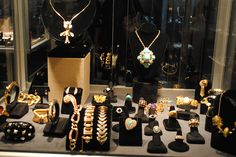 Assortment of jewelry purchased (and designed by) Elvis