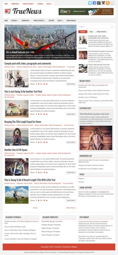TrueNews Blogger Template:  TrueNews is a 100% Responsive and Beautiful, 2 Columns Free Blogger Template for News/Magazine Blogs. TrueNews Blogger Template has a Featured Posts Slider, 2 Navigation Menus, Header Banner Widget, Related Posts, Breadcrumb, Google Fonts, Social and Share Buttons, Right Sidebar, 3 Columns Footer, Tabbed Widget Area and More Features.  http://www.premiumbloggertemplates.com/truenews-blogger-template/
