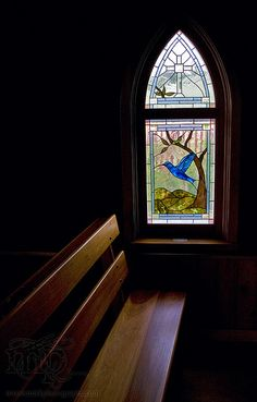 Cypress Hills 2007: St. Margaret's window by Sean McCormick Photography, via Flickr