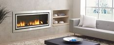 Contemporary & Modern Gas Fireplaces - Regency Fireplace Products