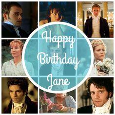 Happy Birthday Jane!!! #jane #austen #Steventon #16 december 1775 #Winchester 18 july 1817