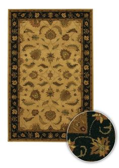Artist's Loom Hand-tufted Traditional Oriental Rug