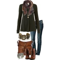 Untitled #571 by simple-wardrobe on Polyvore featuring American Vintage, Rock Revival, Stephen Dweck, LowLuv and Object Collectors Item