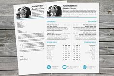 Beautiful Resume Template and Cover Letter  by kukookresume