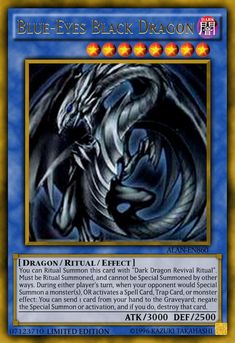 Game Of Thrones Jewelry, Game Of Thrones Fans, Yu Gi Oh, Resident Evil, Dark Magician Cards, Custom Yugioh Cards, Yugioh Dragons, Dark Blue Eyes, Ultimate Dragon