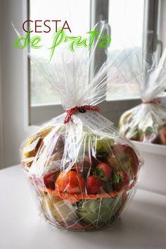 Cesta de fruta de regalo | Decorar en familia | DEF Deco ¡Un regalo original!