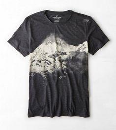 AEO Photo Real T-Shirt Moda Para Caballero ffdb1f0cde9