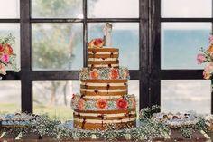 #destinationwedding, #brazil, #ceara, #taiba, #wedding, #casamentonapraia, #casamento, #beach, #nakedcake, #cake, #weddingcake, #brazilian, #lebanese, #roses, #caketopper, #willowtree, #promise, #promisecaketopper