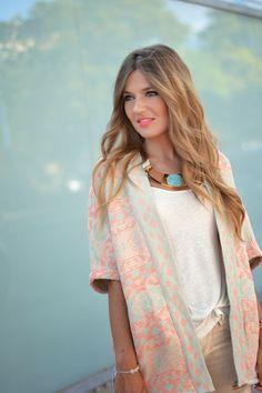 Kimono: Pull&Bear (S/S 14)