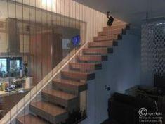 scari moderne cu trepte flotante