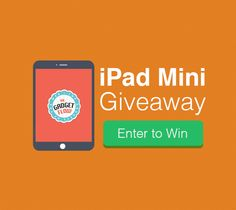 iPad Mini Giveaway – Enter to Win