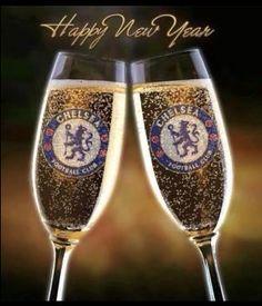 Happy new year David Luiz Chelsea, Chelsea Fc, Spurs Fans, Chelsea Football, Tottenham Hotspur, Happy New Year, Cheers, Blues, London Blue