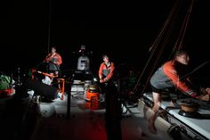 The new Start for Groupama 4 - Leg 5 - Day 23 / Groupama in the Volvo Ocean Race / Credit : Yann Riou