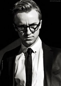 Tom with glasses