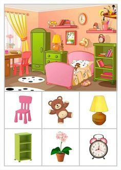 Body Parts Preschool, Hidden Pictures, Winter Crafts For Kids, Kids Education, Speech Therapy, Bingo, Presentation, Family Guy, Clip Art