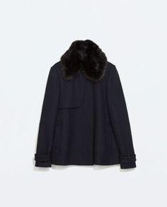 SHORT STRUCTURED COAT from Zara