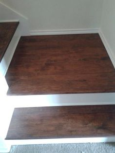 Trafficmaster Embossed Alameda Hickory 7 Mm Thick X 7 3 4 In Wide X 50 5 8 In Length Laminate Flooring 24 52 Sq Ft Case Dark