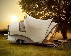 94 Luxury Camping Essentials - From Swing Bed Tents to Portable Timber Washrooms (TOPLIST)