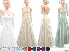 ekinege's Romantic Wedding Gown