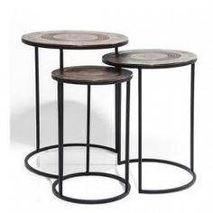 Odkládací stolek Marrakesh (3/Set)