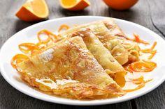 Make Easy Crepes Suzette for Breakfast, Brunch or Dessert Grand Marnier, Breakfast Dessert, Breakfast Recipes, Pancake Recipes, Pancake Ideas, Köstliche Desserts, Dessert Recipes, Dessert Crepe Recipe, Crepe Suzette Recipe