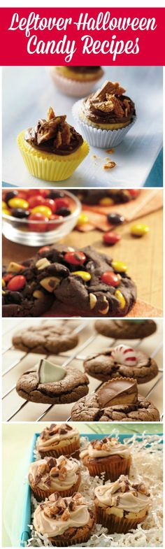 11 ways to use up leftover Halloween candy!