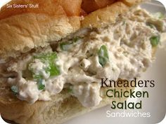 Kneaders Chicken Salad Sandwiches  100 of the Best Restaurant Copycat Recipes | Six Sisters' Stuff