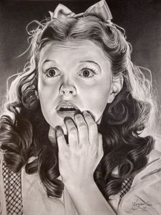 """Judy Garland as Dorothy in """"The Wizard of Oz"""" -golden era 6th by ~Hongmin { Michelle Seo }"""