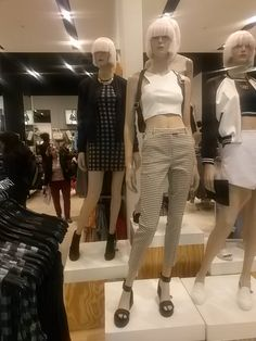 Trend: City tribe Mannequin styling